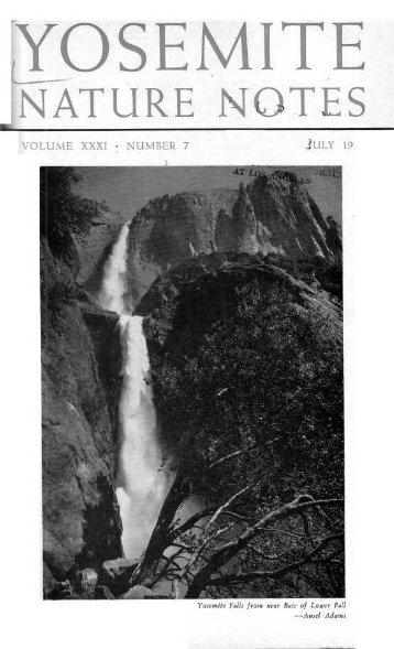 (July 1952) [PDF] - Yosemite Online