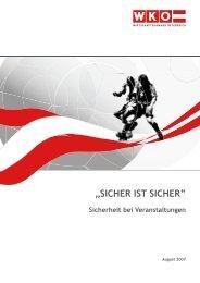 """""""SICHER IST SICHER"""" Sicherheit bei Veranstaltungen - SecureLINE"""