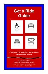Get a Ride Guide - Knoxville Regional Transportation Planning ...