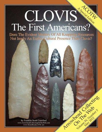 Clovis - Arrowhead Collecting On The Web