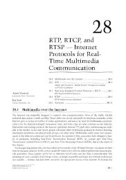 RTP, RTCP, and RTSP - Internet Protocols for Real-Time Multimedia ...