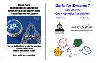 Ad Book - Greater Trenton Dart League