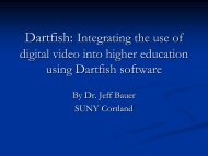 Dartfish: Integrating the use of digital video into higher education ...
