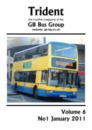 Trident Magazine January 2011 Edition - GB Bus Group