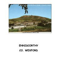 ENNISCORTHY CO. WEXFORD - Department of Agriculture