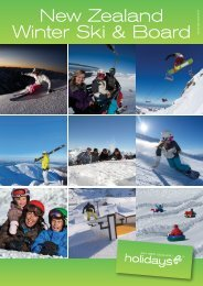 New Zealand Winter Ski & Board V - AOT Online