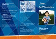 DART Paediatrics - Mater Hospitals, Brisbane QLD