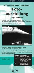 Kulturtage Sinsheim 29.09.05 - Ekxakt - Seite 4