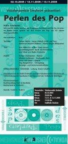 Kulturtage Sinsheim 29.09.05 - Ekxakt - Seite 5