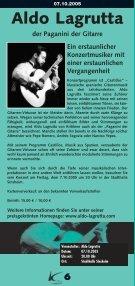 Kulturtage Sinsheim 29.09.05 - Ekxakt - Seite 6
