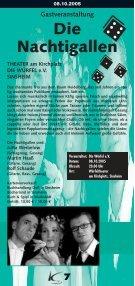 Kulturtage Sinsheim 29.09.05 - Ekxakt - Seite 7