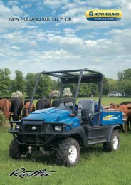 NEW HOLLAND RUSTLER™ 120 - Das New Holland
