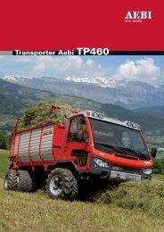 Technische Daten / Transporter Aebi TP460