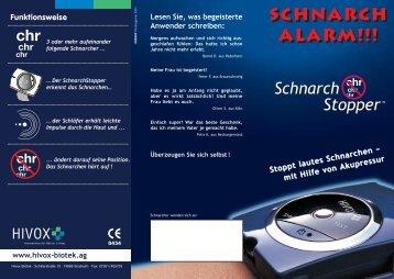 Schnarch alarm!!!