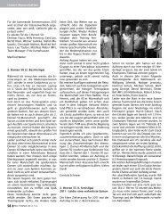 PSC Tennis Magazin 2012 (Teil 4) - Pulheimer SC
