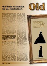 Die Mode in Amerika im 19. Jahrhundert - Traumfaenger Berlin