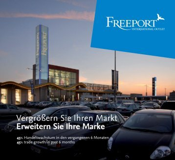Dienstleistungen von Freeport Services provided by Freeport