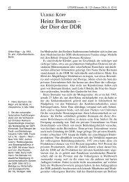 Heinz Bormann – der Dior der DDR