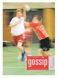 Offizielles Vereinsmagazin des TV Zofingen Handball Ausgabe 4 ...