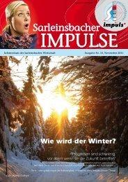 Wie wird der Winter? - Marktgemeinde Sarleinsbach