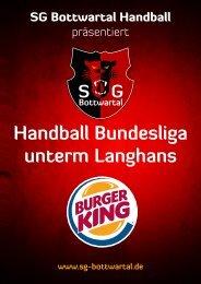 Handball Bundesliga unterm Langhans - SG Bottwartal