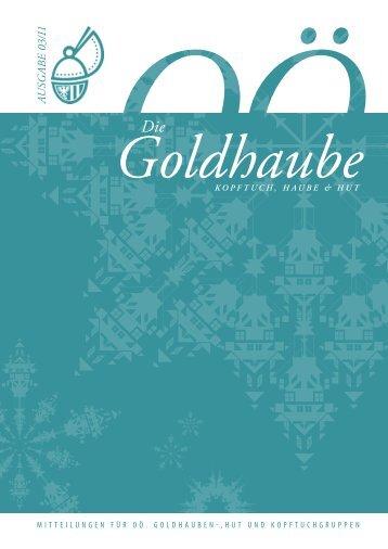 Goldhaubenzeitung 2011/3 - Goldhauben.net