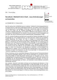 Novellierte 1.BImSchV tritt in Kraft als PDF - Eisenschmid