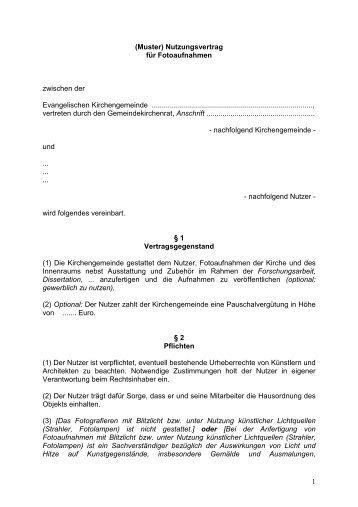 Anhang Zum Nutzungsvertrag Hnkkjde