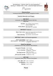 Das gesamte Konzertprogramm ist hier als PDF abrufbar - Eitorf