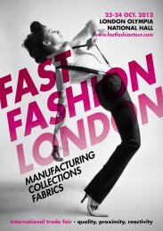 MANUFACTURING COLLECTIONS FABRICS - Fast Fashion Tour