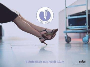 Beinfreiheit mit Heidi Klum