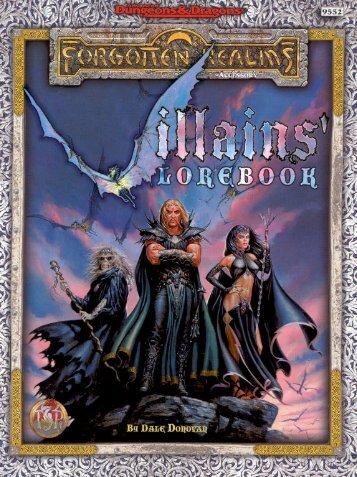 Villains' Lorebook.pdf - Department of Political Science
