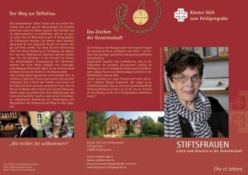 STIFTSFRAUEN - Kloster Stift zum Heiligengrabe