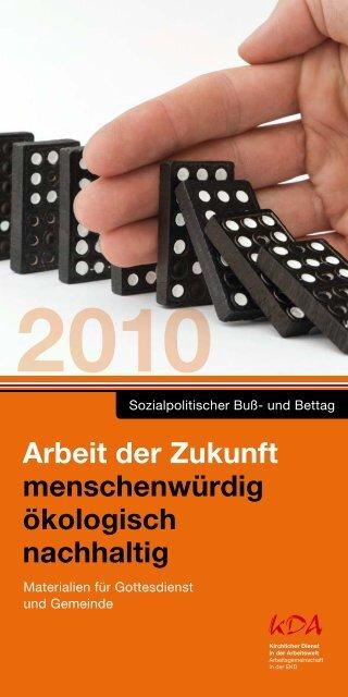 Material zum Sozialpolitischen Buß- und Bettag 2010