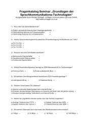 Fragenkatalog Seminar - Schlager Communications Services GmbH