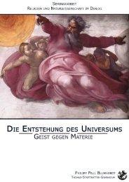 3. Preis Philipp Blumhardt - Christentum und Kultur