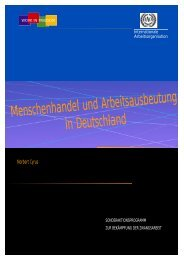 Menschenhandel und Arbeitsausbeutung in Deutschland (PDF, 368 ...