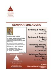 Networking Security- Technologie - Teil II - Schlager ...