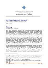 Referat Professor Dr. Michael Herbst FORUM 2006 - Evangelische ...