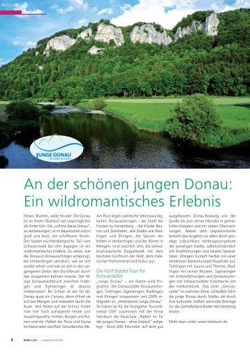 Jungen Donau und im Urdonau-Tal - Stadt Ehingen