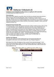 HBCI Chipkarte 2014 in VR-Networld einrichten - Ostharzer ...