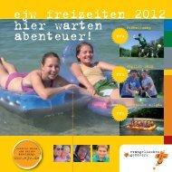 ejw freizeiten 2012 - Evangelisches Jugendwerk Darmstadt eV