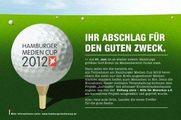 Ausschreibung Spieler 2012 - Hamburger Medien Cup