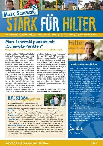 Hilter – Gemeinde mit Bildung - Marc Schewski