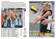 Auszeit Nr 11 - SV Bad Laer Volleyball