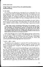 Einige Fragen zur neueren Praxis der plattdeutschen Rechtschreibung