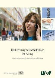 Elektromagnetische Felder im Alltag - Ehekirchen