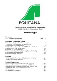 Pressemappe - Equitana