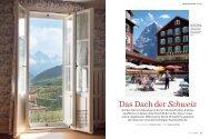 Das Dach der Schweiz - Scheidegg Hotels