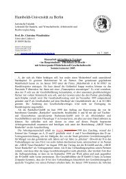 Hausarbeit - Lehrstuhl Prof. Dr. Windbichler - Humboldt-Universität ...
